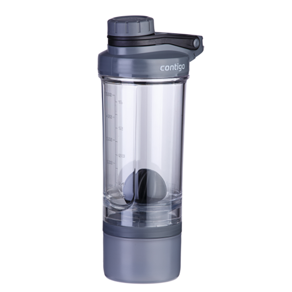 Шейкър SHAKE & GO FIT + compartment 650 мл