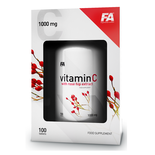 Vitamin C 1000 мг. with Rose Hips Extract 100 Табл.
