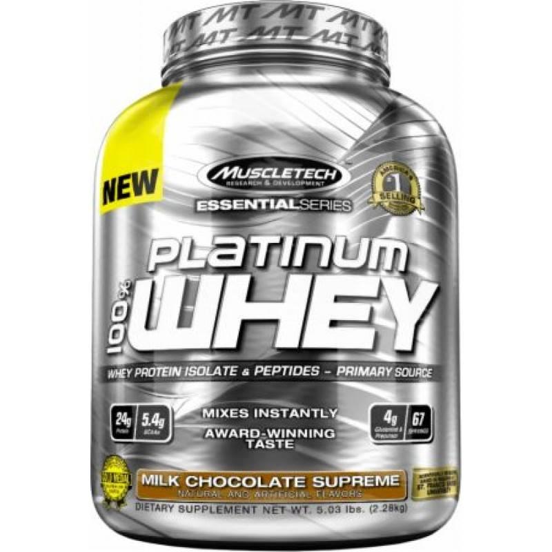 Platinum 100% Whey – 2272 г.