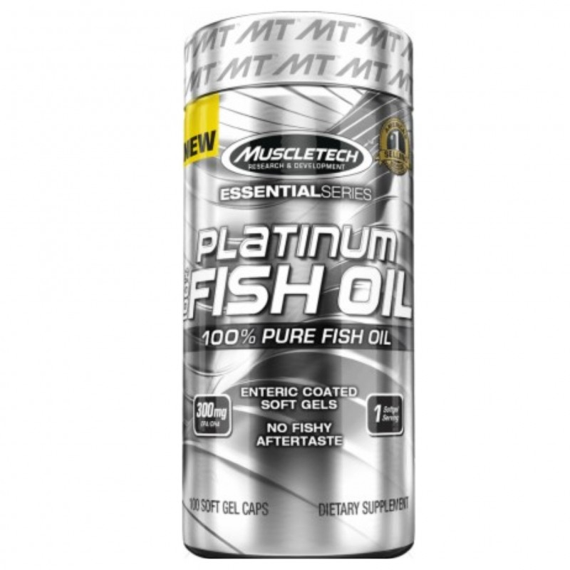 Platinum Fish Oil – 100 капс.