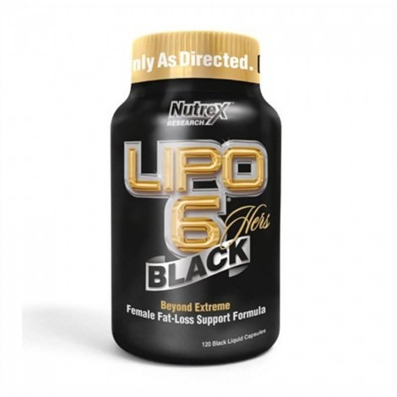Lipo 6 Black Hers – 120 капс.
