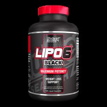 Lipo 6 Black Maximum Potency - 120 капс.