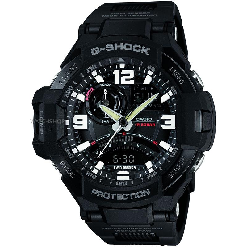 Мъжки часовник Casio G-Shock GA-1000FC-1AER