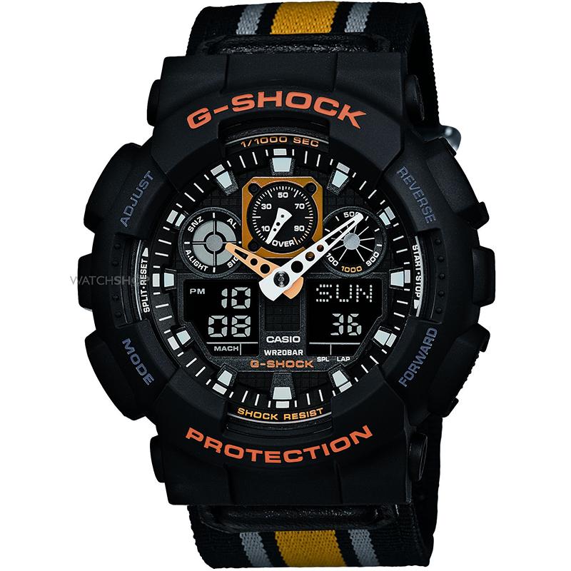 Мъжки часовник Casio G-Shock GA-100MC-1A4ER