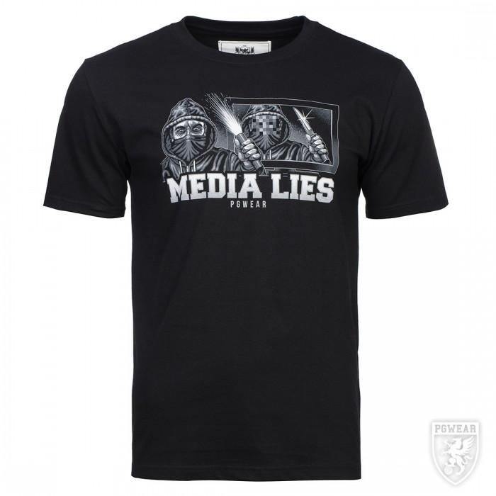 Мъжка тениска PG Wear Media Lies