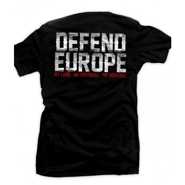 Мъжка тениска EB Defend Europe