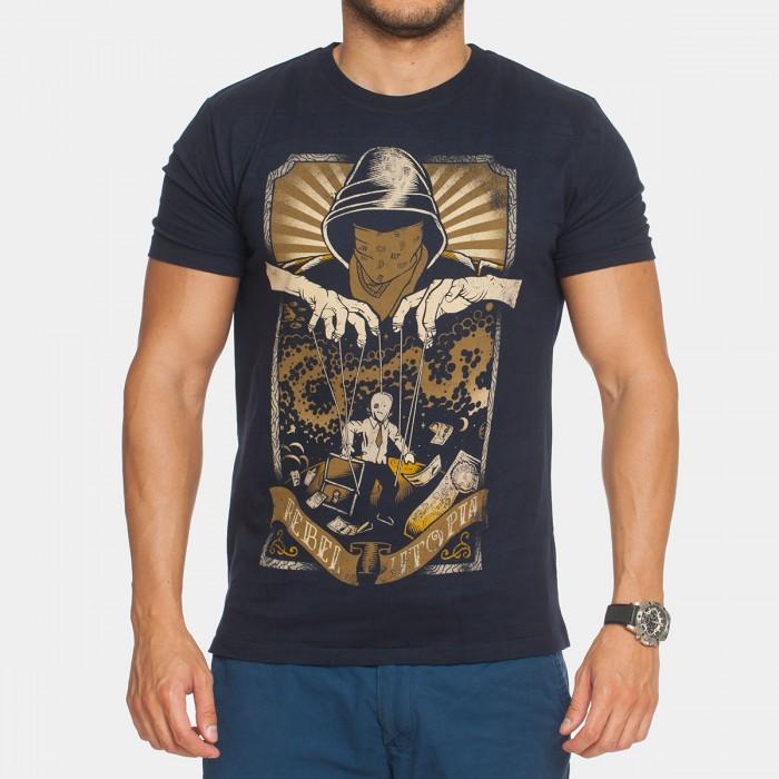 Тениска  Willie J Rebel utopia