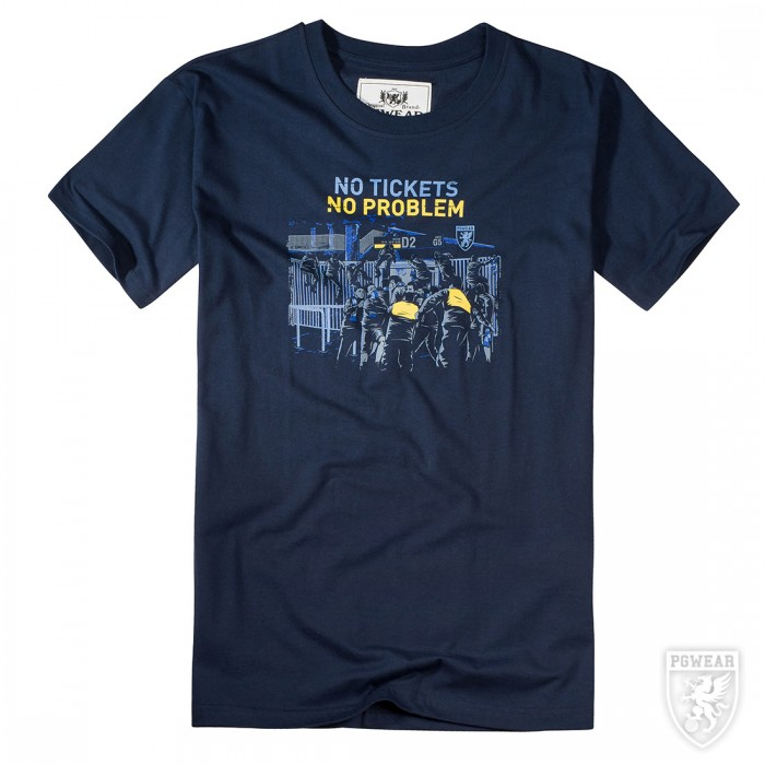 Мъжка тениска  PG Wear No Tickets – No Problem