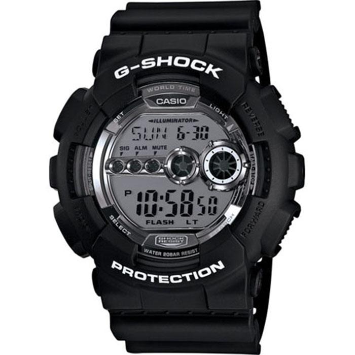 Мъжки часовник Casio G-Shock GD-100BW-1ER