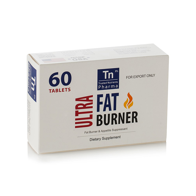 Ultra Fat Burner (Ефедрин 30 мг. / Кофеин 200 мг. / Аспирин 200 мг.) – 1 блистер х 15 табл.