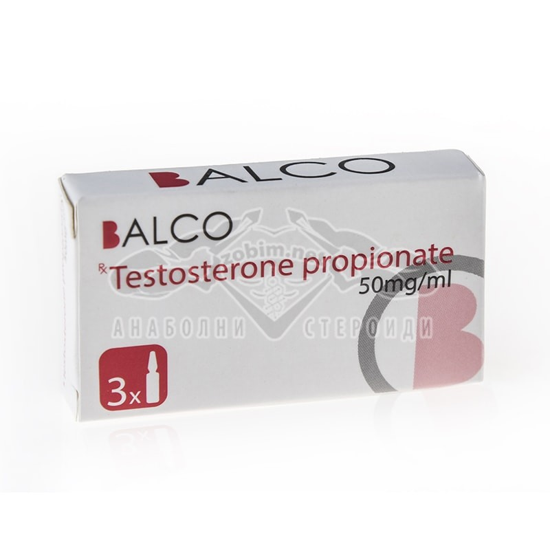 Testosterone Propionate – 3 амп. х 50 мг.