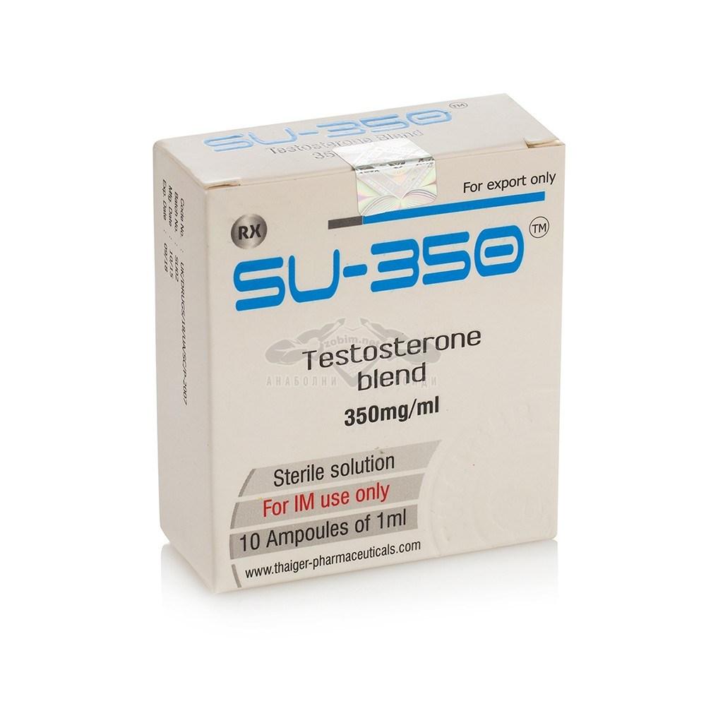 Su-350 (5 тестостеронови естера) – 10 амп. х 350 мг.