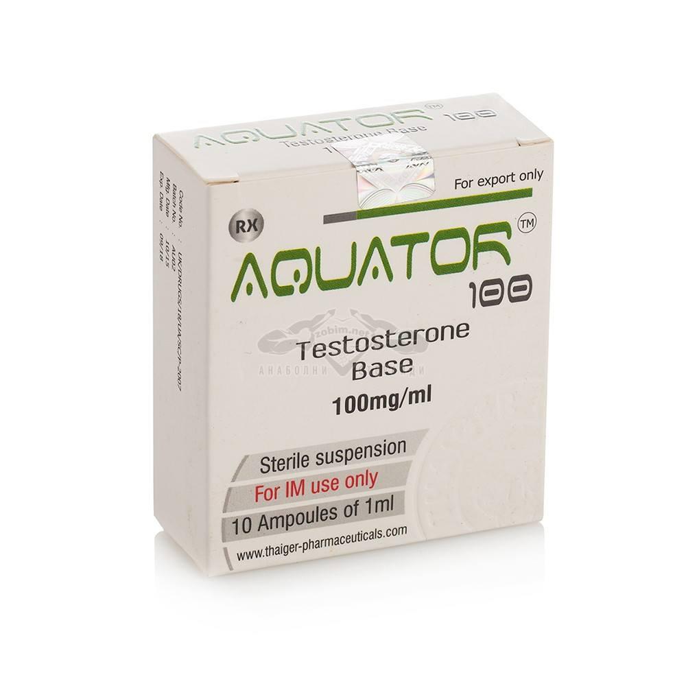Aquator 100 (Testosterone Suspension) – 10 амп. х 100 мг.