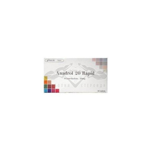 Anadrol 20 Rapid (Oxymetholone) – 50 табл. х 20 мг.