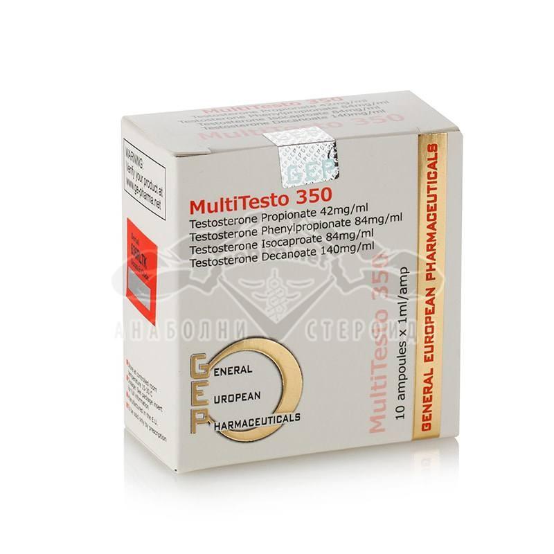 Multi Testo 350 (Testosterone mix) – 10 амп. x 350 мг.