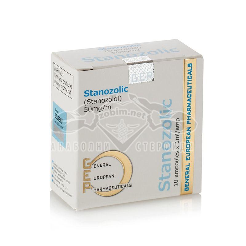 Stanozolic (Stanozolol) – 10 амп. х 50 мг.