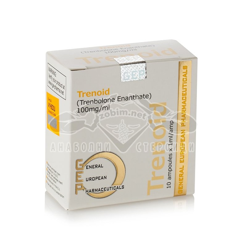 Trenoid (Trenbolone Enanthate) – 10 амп. х 100 мг.