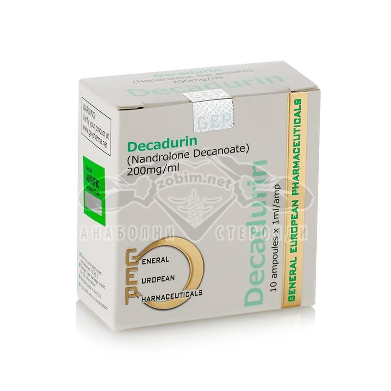 Decadurin (Nandrolone Decanoate) – 10 амп. x 200 мг.