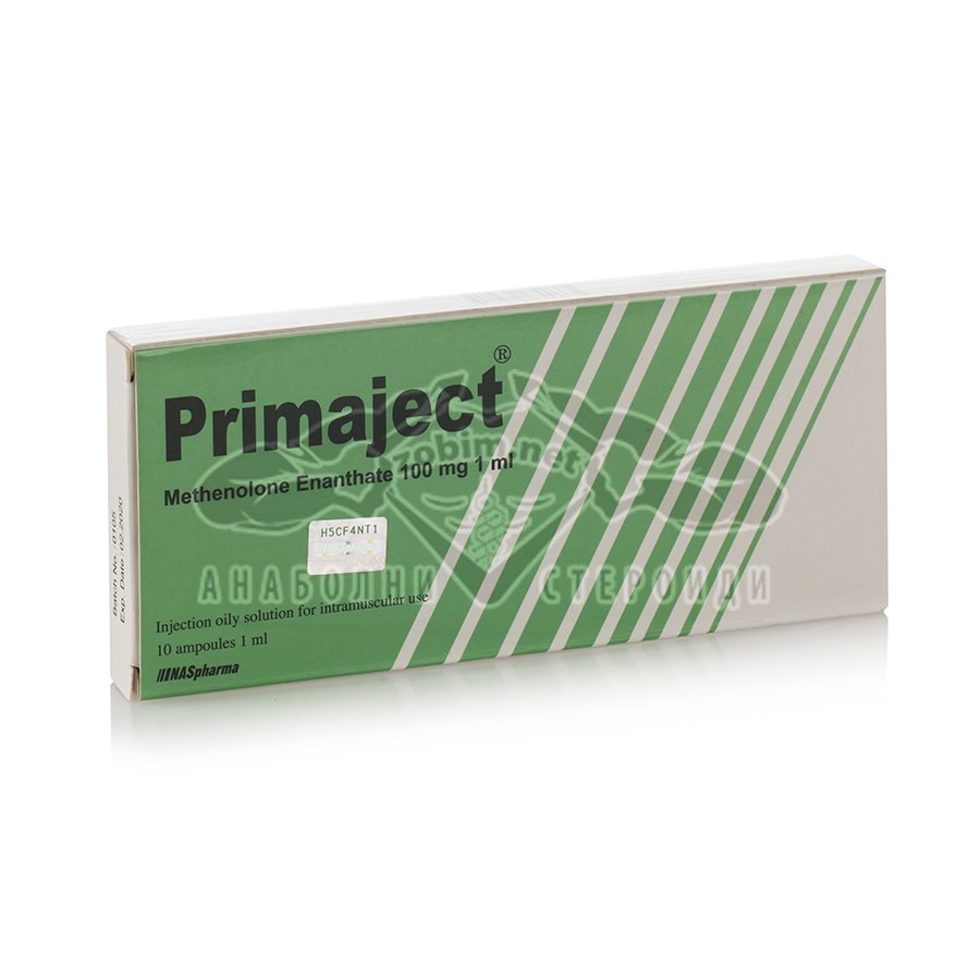 Primaject (Methenolone Enanthate) – 10 амп. х 100 мг.