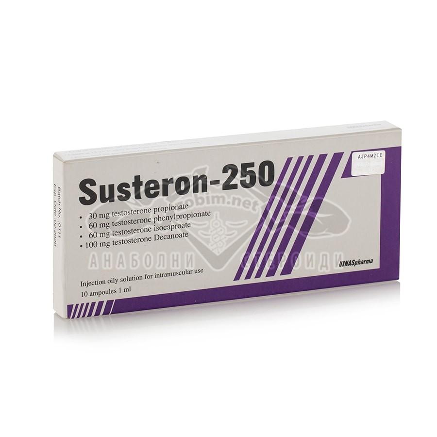 Susteron-250 (Сустанон) – 10 амп. х 250 мг.