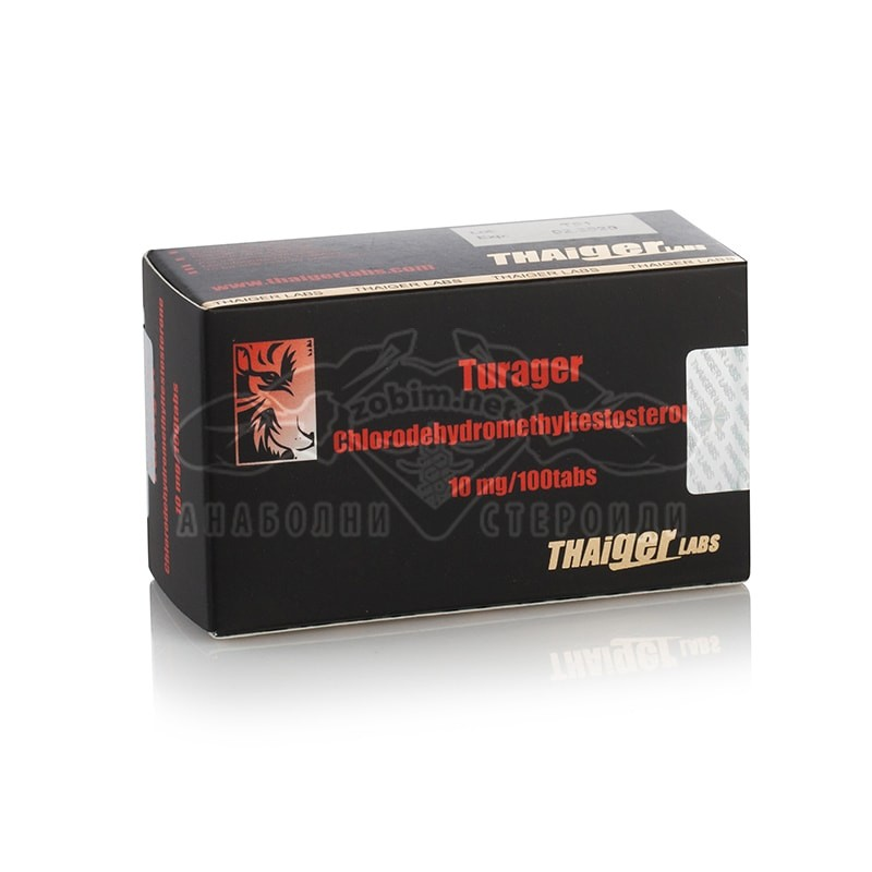 Turager (Chlordehydromethyltestosterone) – 100 табл. х 10 мг.