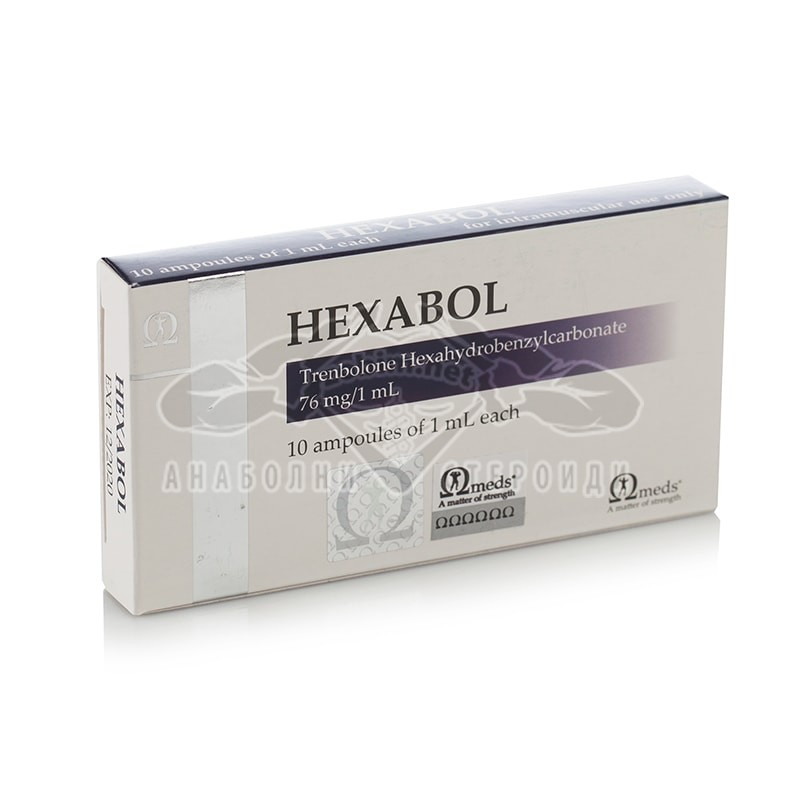 Hexabol (Trenbolone Hexahydrobenzylcarbonate) – 10 амп. х 76 мг.