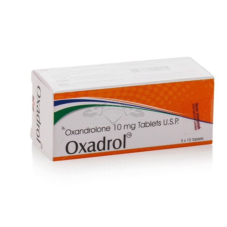 Oxadrol (Oxandrolone) – 50 табл. х 10 мг.