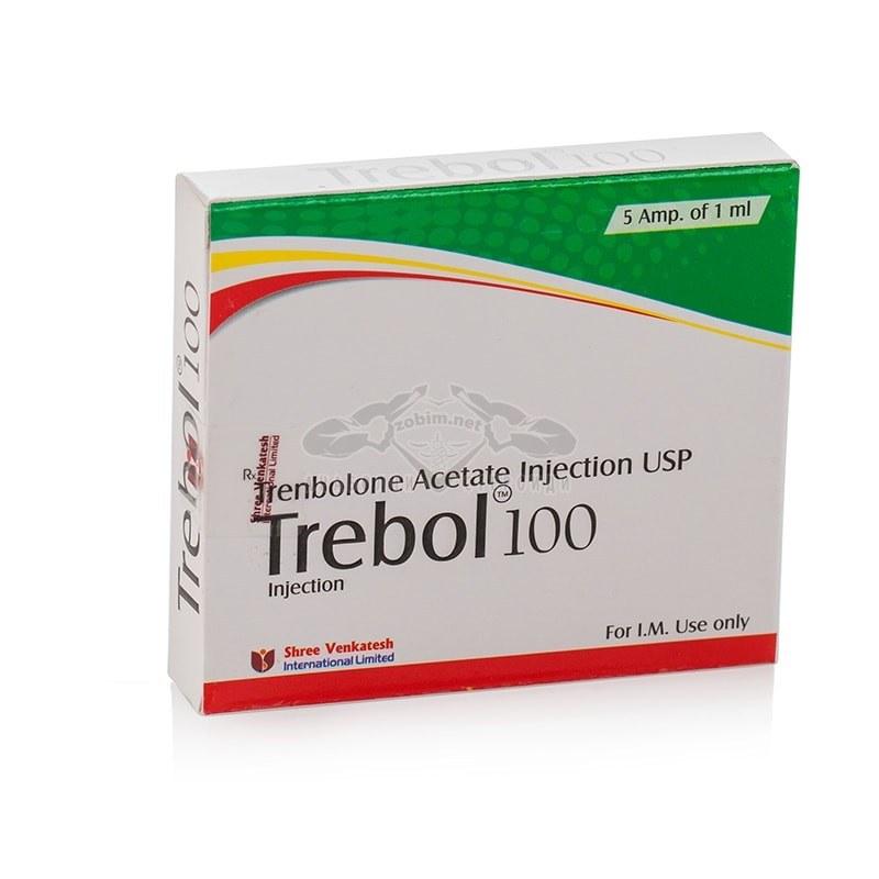 Trebol 100 (Trenbolone Acetate) – 5 амп. x 100 мг.