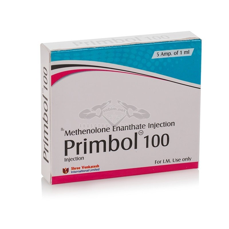 Primbol 100 (Methenolone Enanthate) – 5 амп. x 100 мг.