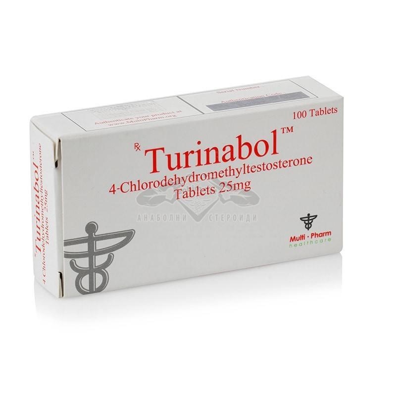 Туринабол / Turinabol – 100 табл. х 25 мг.