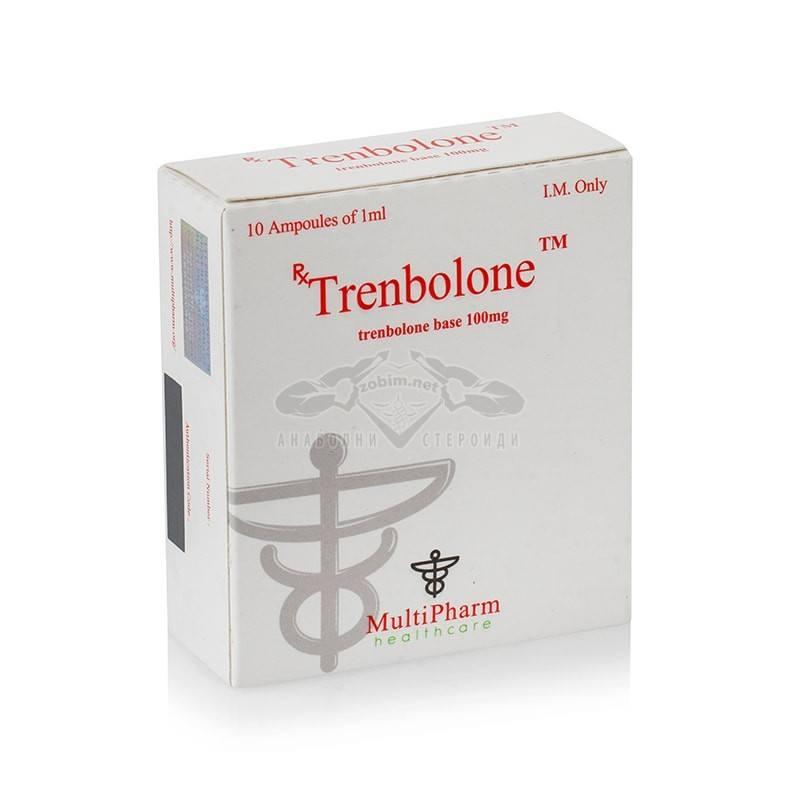 Trenbolone base / Тренболон база – 10 амп. х 100 мг.