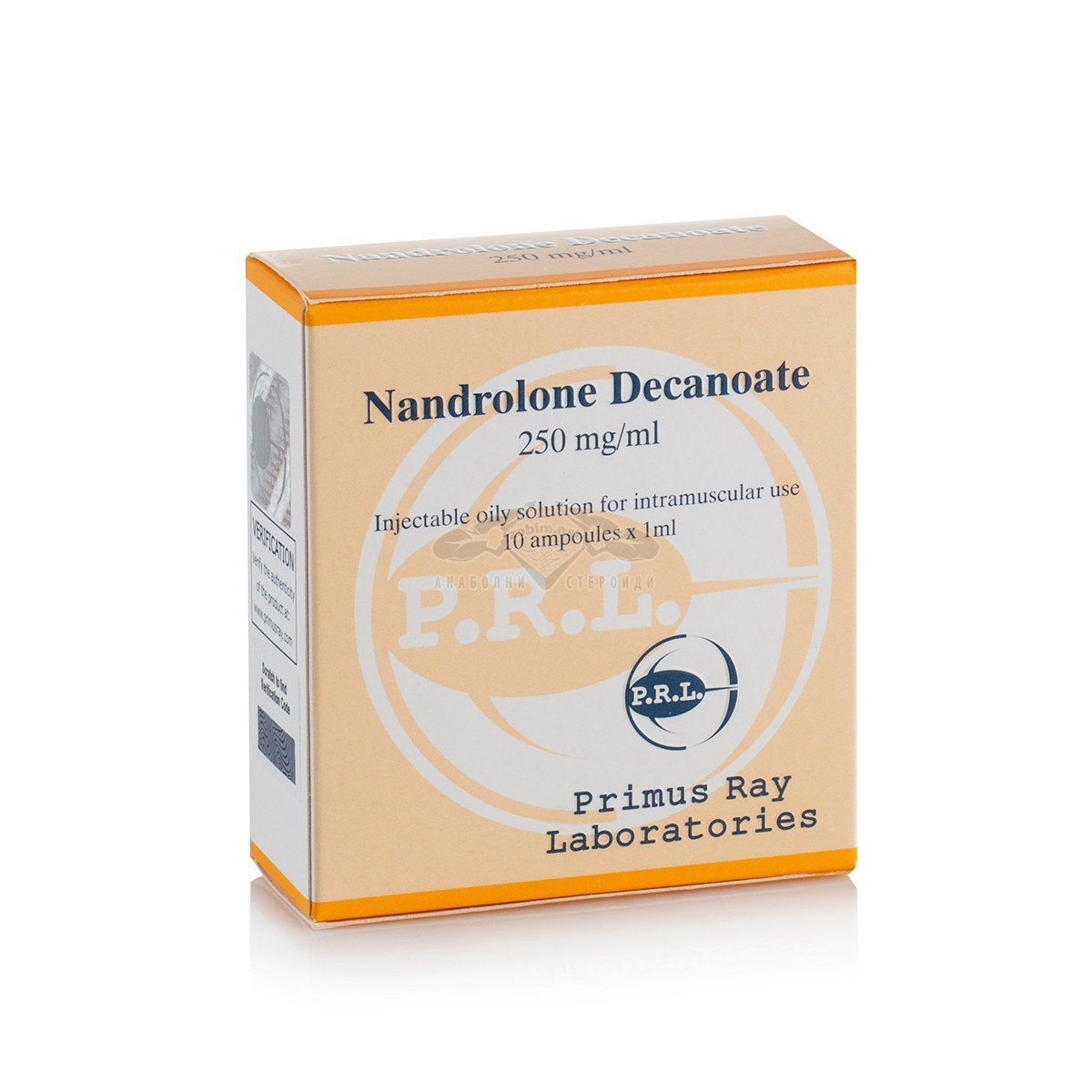 Nandrolone Decanoate (Deca) – 10 амп. x 250 мг.