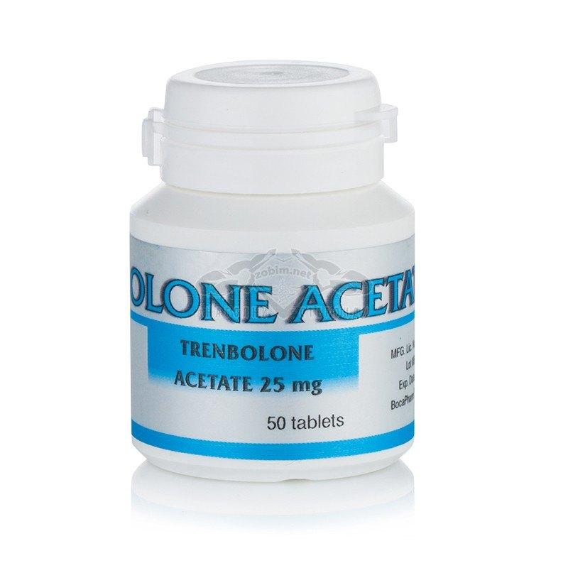 Trenbolone Acetate – 50 табл. х 25 мг.