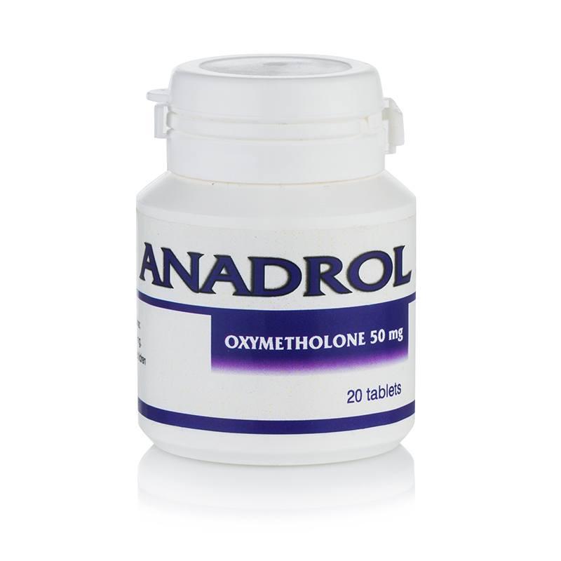 Anadrol 50 (Oxymetholone) – 20 таб. x 50 мг.