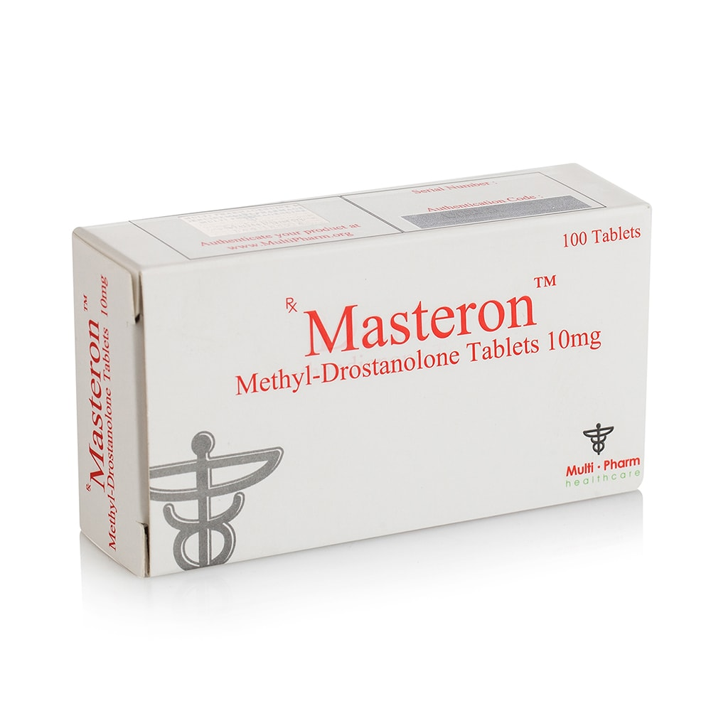 Masteron (Methyl Drostanolone) – 100 табл. х 10 мг.