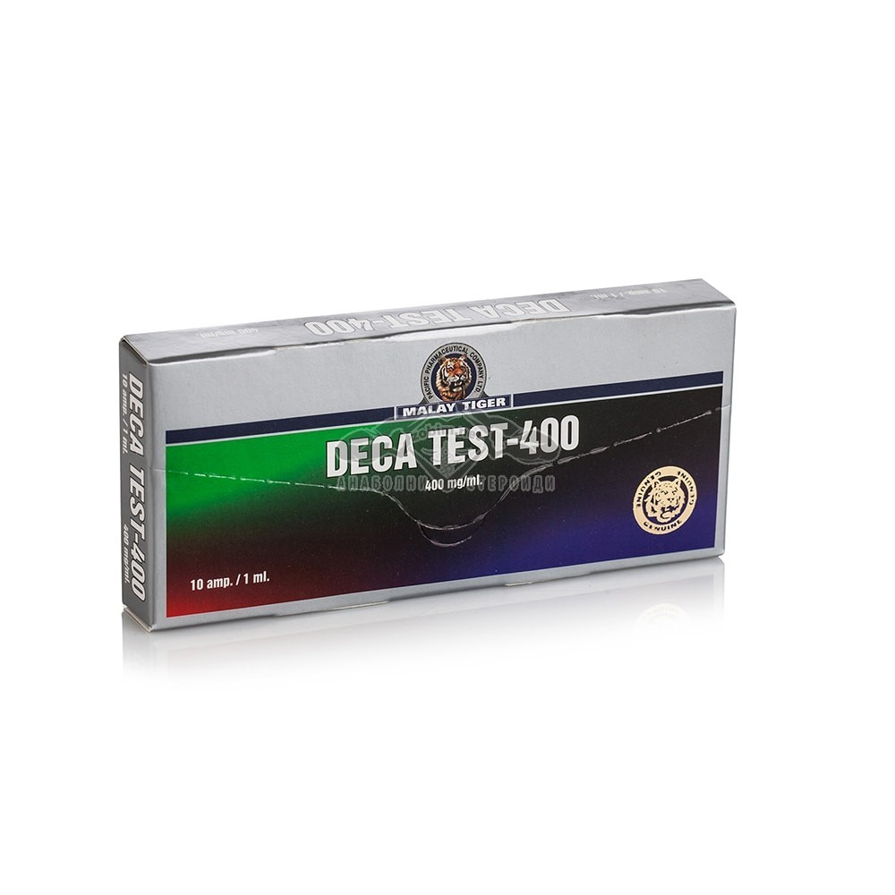 Deca Test 400 (Nandrolone Decanoate, Boldenone Undecylenate, Testosterone Cypionate) – 10 амп. х 400 мг.