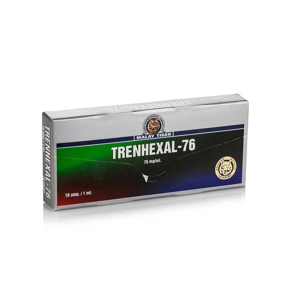 Trenhexal (Trenbolone Hexahydrobenzylcarbonate) – 10 амп. х 76 мг.