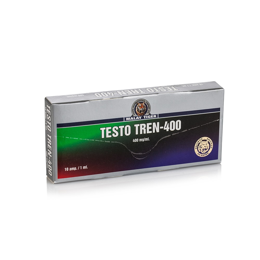 Testo Tren 400 (Testosterone Enanthate, Trenbolone Enanthate, Nandrolone Decanoate) – 10 амп. х 400 мг.