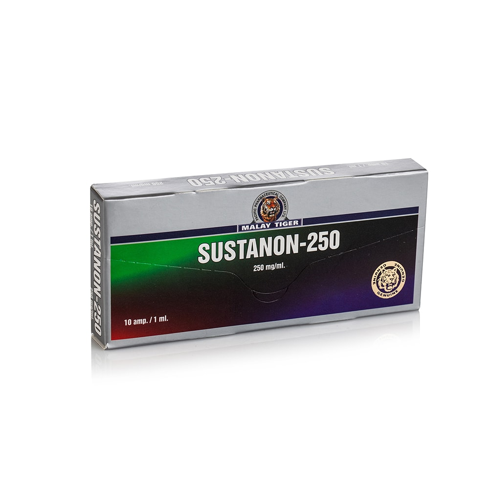 Sustanon-250 (Testosterone Propionate, Testosterone Phenylpropionate, Testosterone Isocaproate, Testosterone Decanoate) – 10 амп. х 250 мг.