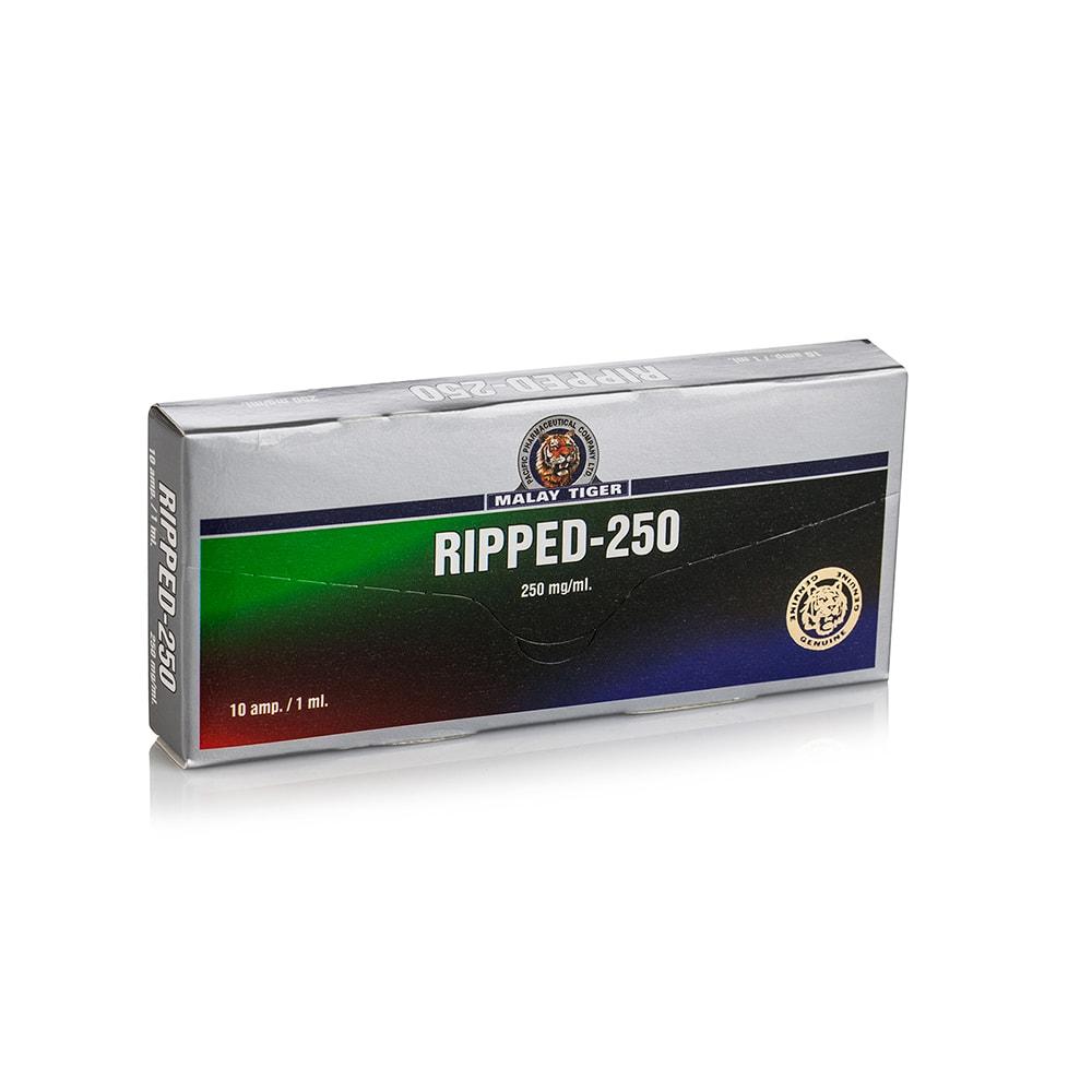 Ripped 250 (Testosterone Propionate, Trenbolone Acetate, Drostanolone Propionate) – 10 амп. х 250 мг.