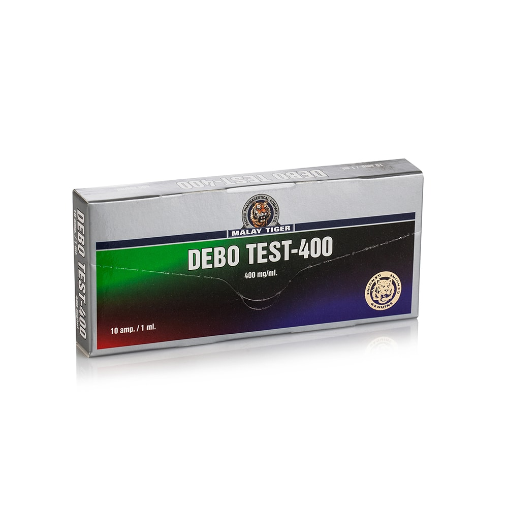 Debo Test 400 (Boldenone, Nandrolone Phenylpropionate, Testosterone Propionate, Testosterone Cypionate) – 10 амп. х 400 мг.