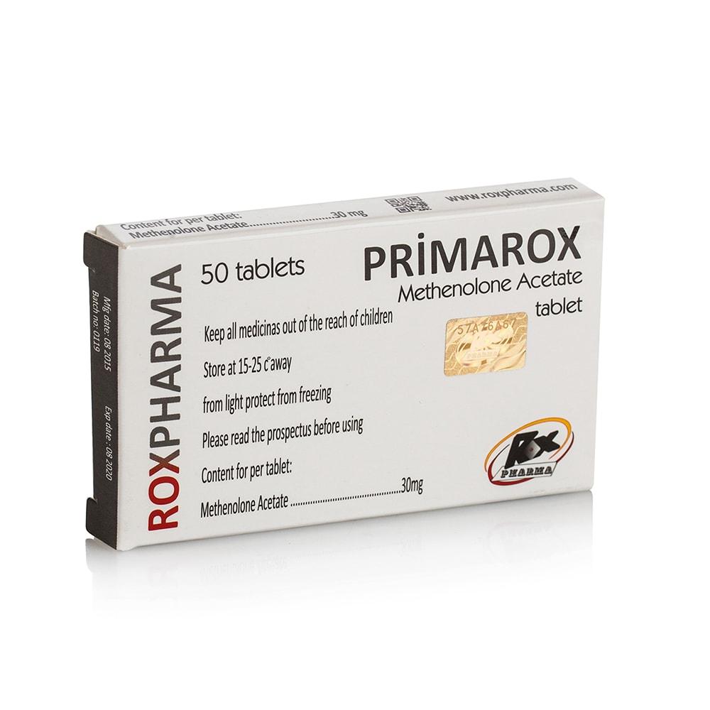 Primarox Oral (Methenolone Acetate) – 50 табл. х 30 мг.