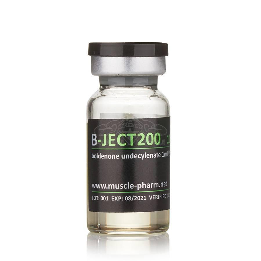 B-Ject 200 (Boldenone Undecylenate) – 10 мл. x 200 мг./мл.