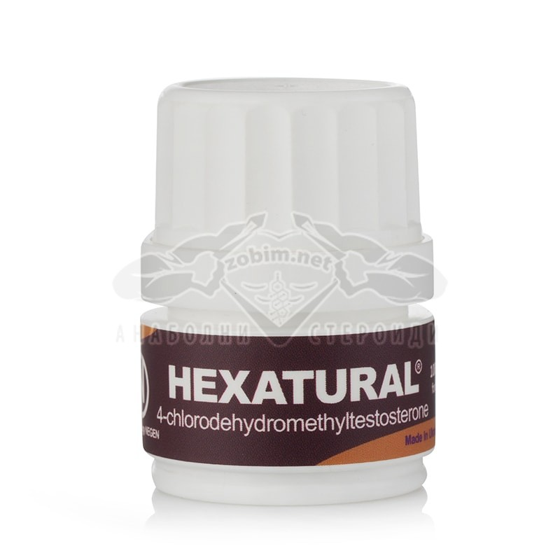 Hexatural (Chlordehydromethyltestosterone) – 100 табл. х 10 мг.