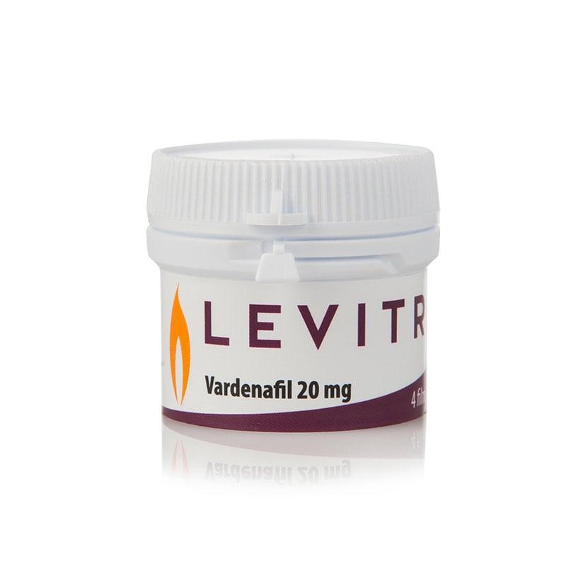 Аптечна Левитра Варденафил / Bayer Levitra Vardenafil 20 мг. – 4 табл.