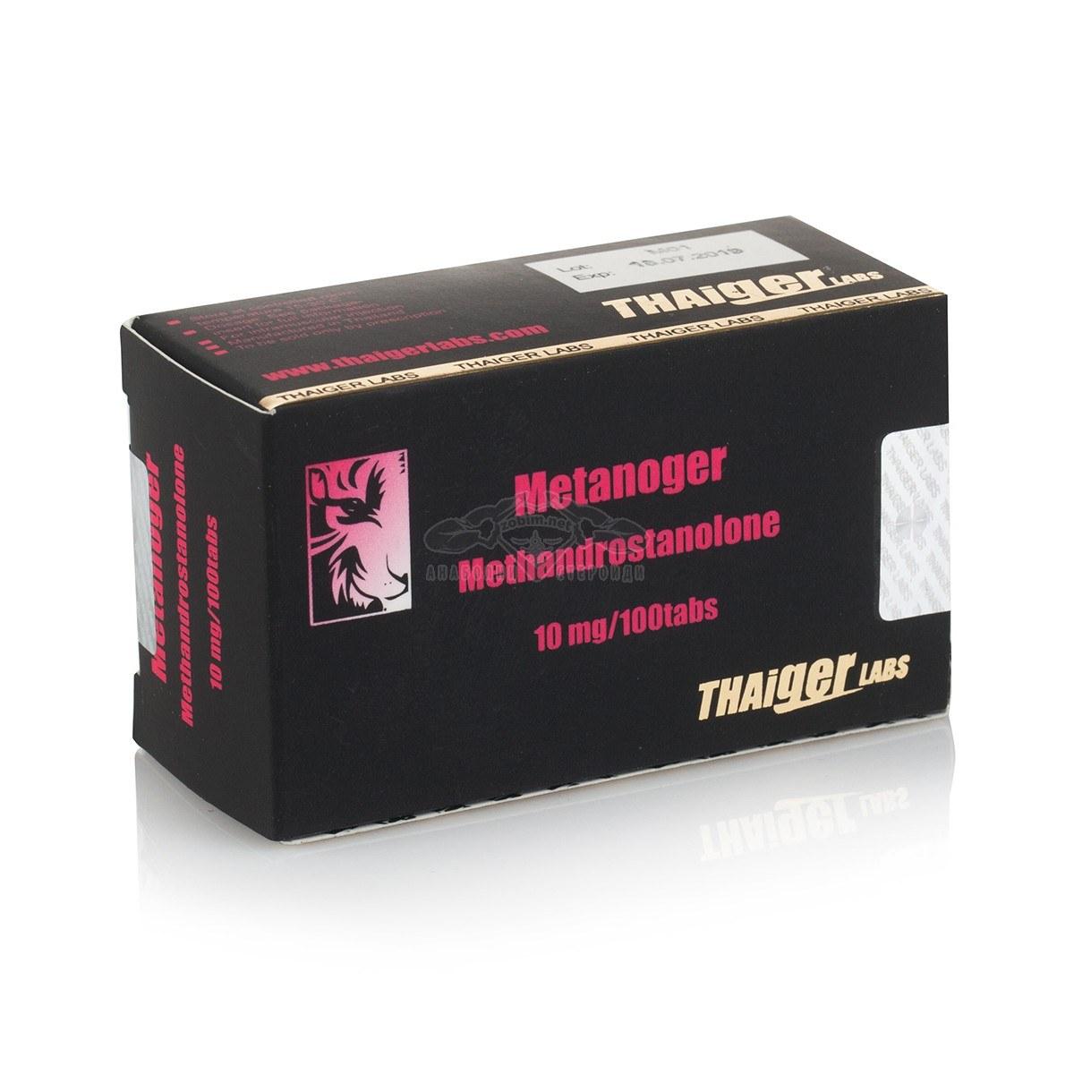 Metanoger (Methandrostenolone) – 100 табл. х 10 мг.