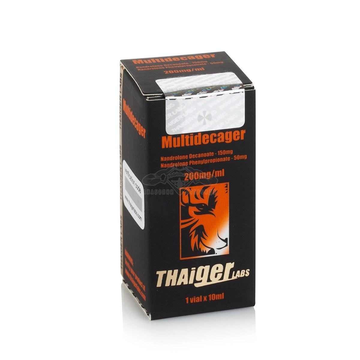 Multidecager (Nandrolone Decanoate, Nandrolone Phenylopropionate) – 10 мл. х 200 мг.