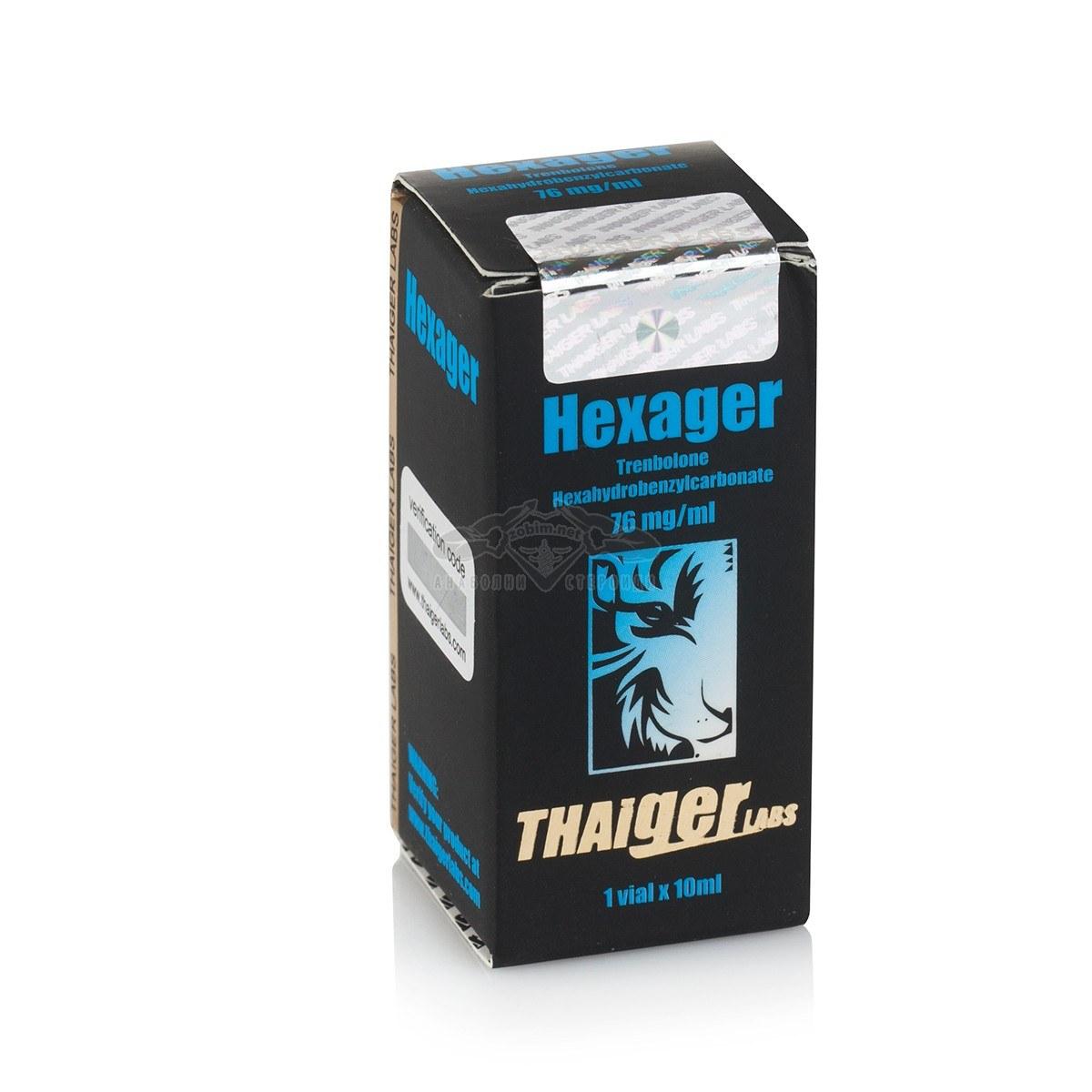 Hexager (Trenbolone Hexahydrobenzylcarbonate) – 10 мл. х 75 мг.