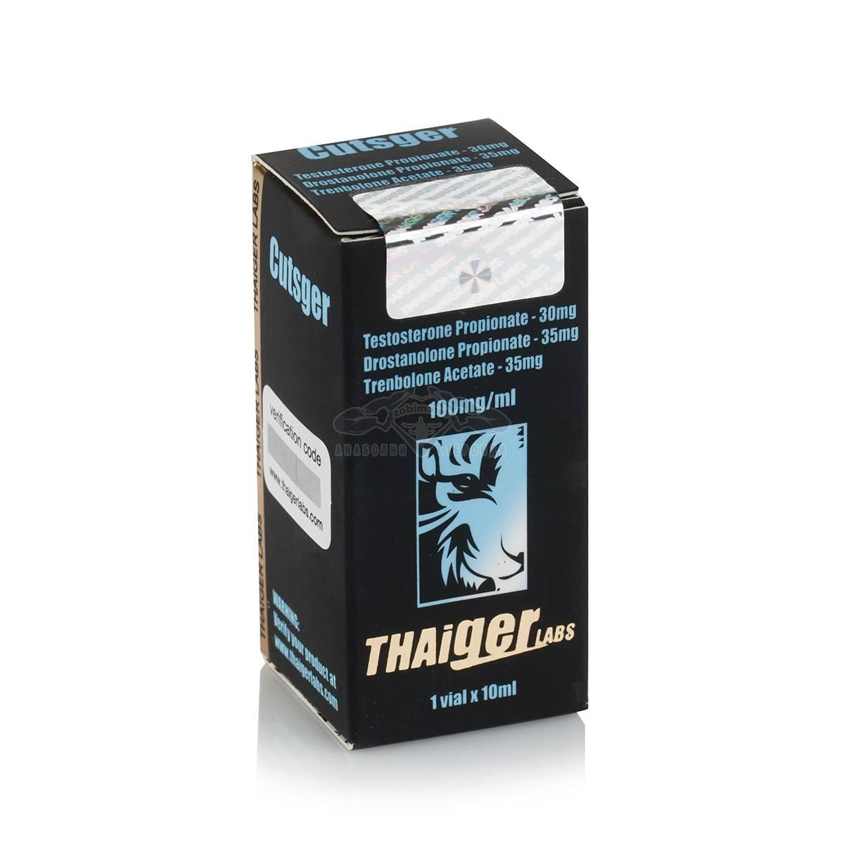 Cutsger (Testosterone Propionate,Drostanolone Propionate,Trenbolone Acetate) – 10 мл. х 100 мг.