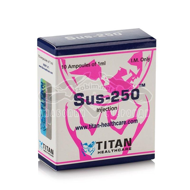 Sus-250 (Сустанон) – 10 амп. х 250 мг.